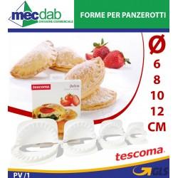 Forma Panzerotti in Plastica per dolci Creazioni Vari Diametri Tescoma