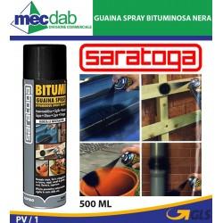 Guaina Bituminosa a Spray Impermeabilizzante Sigillante Saratoga Bitumì 500ML