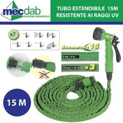 Tubo da Giardino Estendibile Per Irrigazione da 3 / 5 Bar 15 M Boomerang
