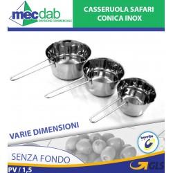 Casseruola Conica In Acciaio Inox Senza Fondo Varie Dimensioni Beta
