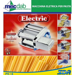 Macchina Per Pasta Elettrica Imperia Electric 650 + Pasta Facile