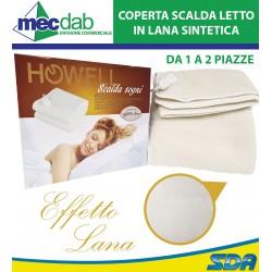 Coperta Scaldaletto Ad 1 Piazza Lana Sintetica Howell Scalda Sogni