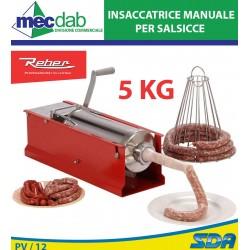 Insaccatrice 5 Kg Manuale Per Salumi e Salsicce Reber 8950N