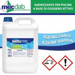Igienizzante per Piscine 5 KG a Base di Ossigeno Attivo Azione Rapida