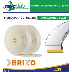 Parafreddo Espanso Autoadesivo Sigilla Porte e Finestre Rotolo 4 MT Brixo