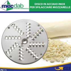 Disco Tagliaverdure e Mozzarella T9 In Acciaio Inox Modello Vieste