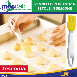 Pennello Da Cucina In Plastica Con Setole In Silicone Per Pennellare Uova - Tescoma