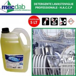 Detergente Per Lavastoviglie 5LT Professionale Redel Wash 1 - HACCP