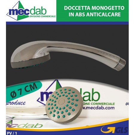 Doccetta Monogetto in ABS Anticalcare Ø 7 Cm ONEJET