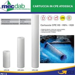 Cartuccia Filtro CPE In Polipropilene Integrale Per Acqua Potabile