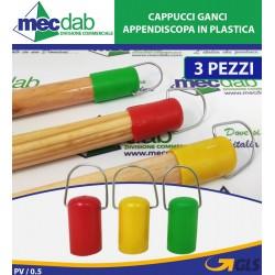 Cappucci Ganci Appendiscopa in Plastica Conf 3 I Casautili