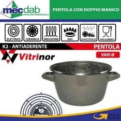 Pentola Antiaderente Con Rivestimento In Pietra Olla Vitrinor K2 Gas Elettrico Induzione