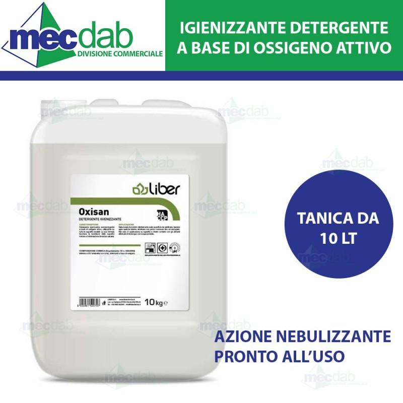 Detergente Superfici Igienizzante a Base ossigeno Attivo OXISAN