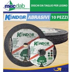 Disco Da Taglio Legno Per Smerigliatrice Angolare Confezione Da 10 Pezzi Kondor W30P-BF