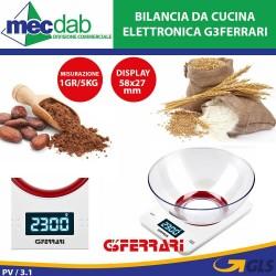 Bilancia da Cucina Elettronica 1Gr/5Kg in Acciaio Inox G3 Ferrari Sfera