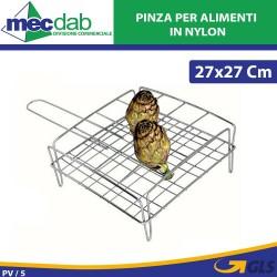 Graticola per carciofi in acciaio 16 posti Made in Italy filcasalinghi