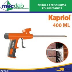 Pistola Professionale In Metallo Per Schiuma Poliuretanica 400ml Kapriol