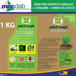 KB Patch Magic Sementi Per Manto Erboso Con Concime e Fibra Di Cocco 1KG