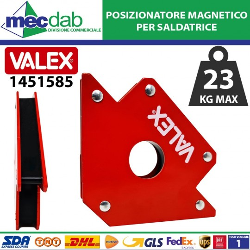 Posizionatore Magnetico Squadra Per Saldatura 45 / 90° 111 mm Valex 1451585