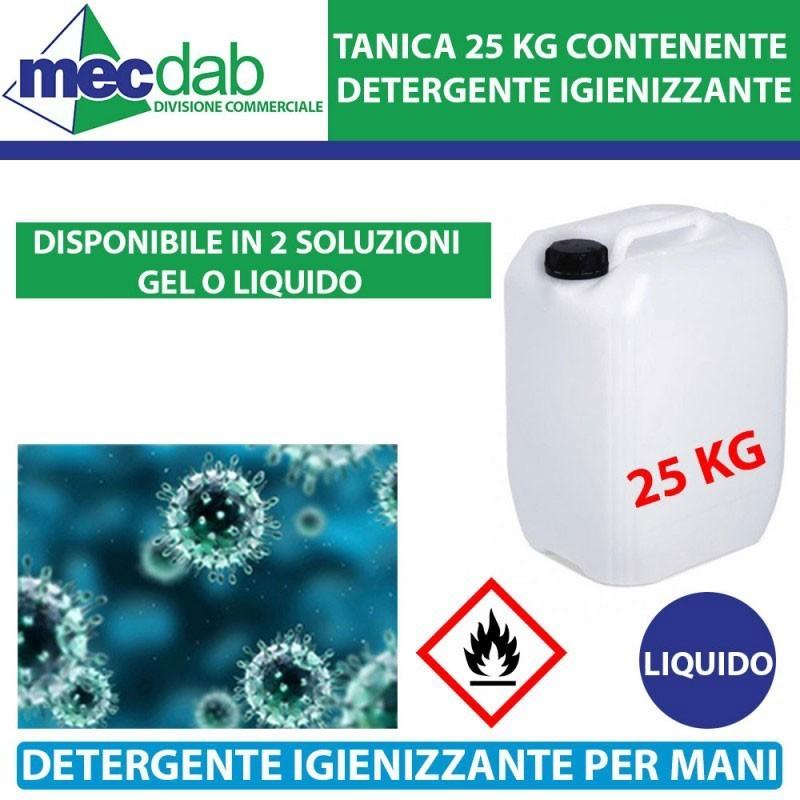 Detergente Igienizzante Per Mani 25 KG