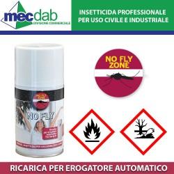 Insetticida per Erogatore Automatico Spray Bomboletta 250 ML Uso Civile e Domestico