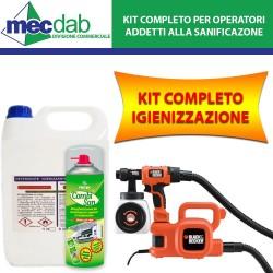 Kit Sanificazione Locali Commerciali Per Operatori ed Addetti alle Sanificazione