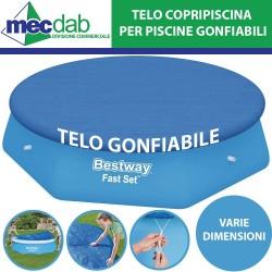Telo Per Piscine Gonfiabili Copertura Rotonda Gonfiabile Bestway Varie Dimensioni