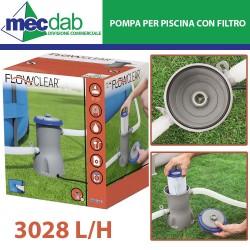 Pompa Filtro Per Piscina 3028 LT/H Con Cartuccia Inclusa Bestway